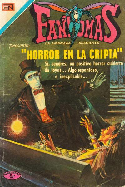 Cover for Fantomas (Editorial Novaro, 1969 series) #72