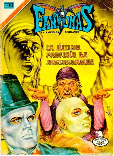Cover for Fantomas (Editorial Novaro, 1969 series) #365
