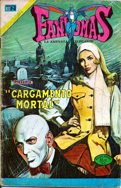Cover for Fantomas (Editorial Novaro, 1969 series) #146