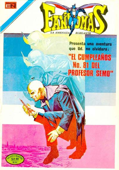 Cover for Fantomas (Editorial Novaro, 1969 series) #176