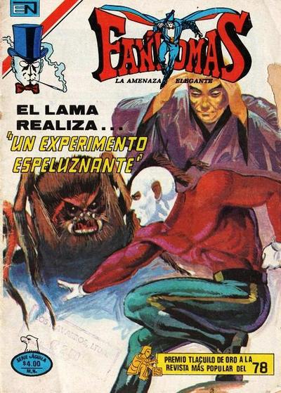 Cover for Fantomas (Editorial Novaro, 1969 series) #428