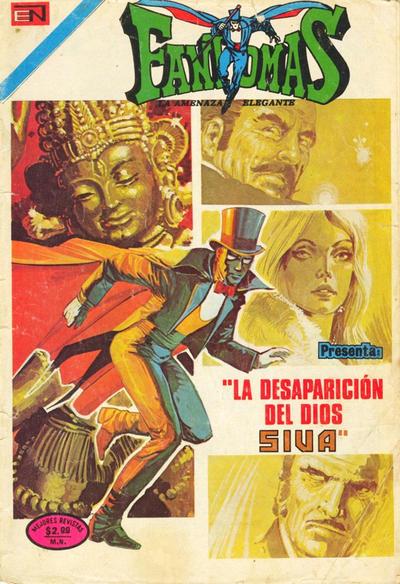 Cover for Fantomas (Editorial Novaro, 1969 series) #177