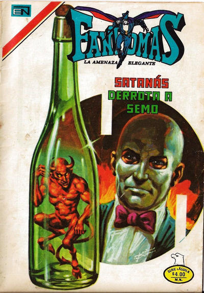 Cover for Fantomas (Editorial Novaro, 1969 series) #371