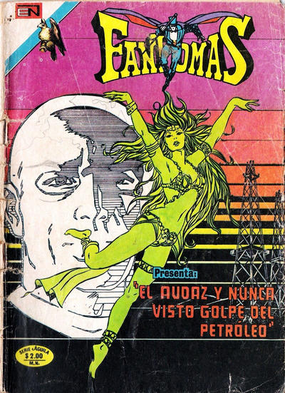 Cover for Fantomas (Editorial Novaro, 1969 series) #215
