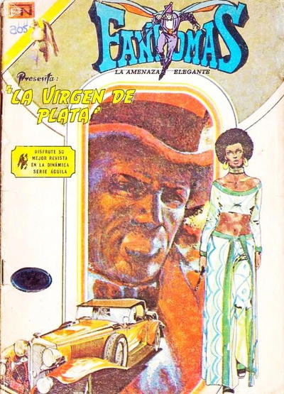 Cover for Fantomas (Editorial Novaro, 1969 series) #205