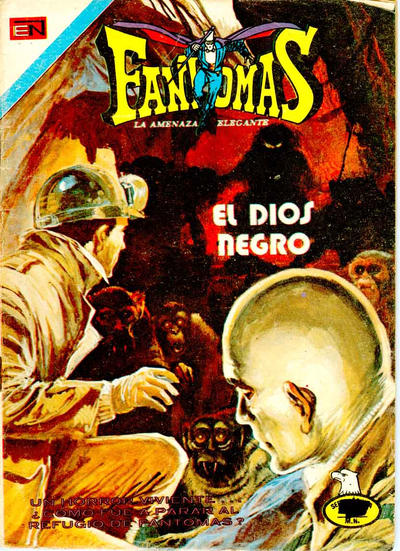 Cover for Fantomas (Editorial Novaro, 1969 series) #306