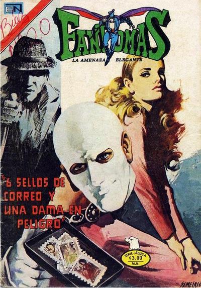 Cover for Fantomas (Editorial Novaro, 1969 series) #269