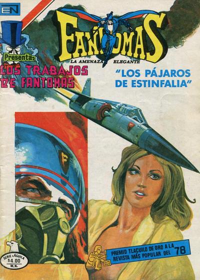 Cover for Fantomas (Editorial Novaro, 1969 series) #435