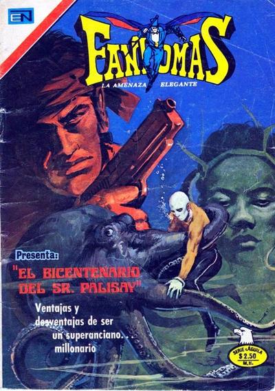 Cover for Fantomas (Editorial Novaro, 1969 series) #235