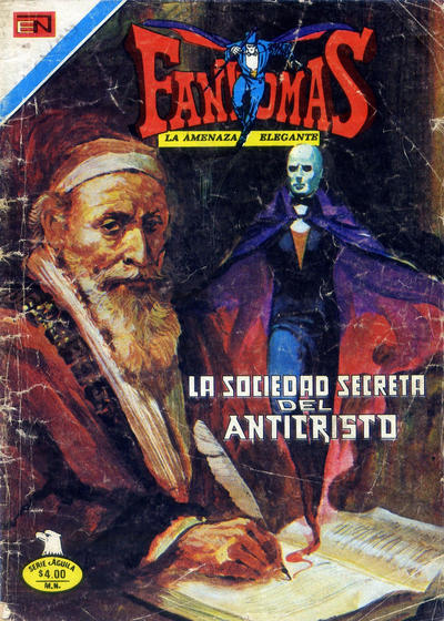 Cover for Fantomas (Editorial Novaro, 1969 series) #367