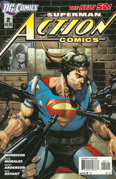Cover for Action Comics (DC, 2011 series) #2