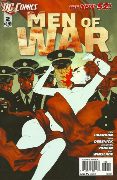 Cover for Men of War (DC, 2011 series) #2