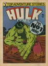 Cover for Hulk Comic (Marvel UK, 1979 series) #5