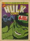 Cover for Hulk Comic (Marvel UK, 1979 series) #6