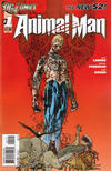 Cover Thumbnail for Animal Man (2011 series) #1 [2nd Printing]