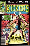 Cover for Kickers, Inc. (Marvel, 1986 series) #1 [Newsstand Edition]