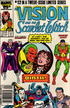 Cover Thumbnail for The Vision and the Scarlet Witch (1985 series) #12 [Newsstand Edition]