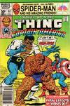 Cover Thumbnail for Marvel Two-in-One (1974 series) #82 [Newsstand]
