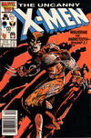 Cover for The Uncanny X-Men (Marvel, 1981 series) #212 [Newsstand]