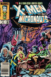 Cover Thumbnail for The X-Men and the Micronauts (1984 series) #3 [Newsstand Edition]