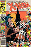 Cover Thumbnail for The Uncanny X-Men (1981 series) #211 [Newsstand Edition]