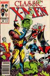 Cover Thumbnail for Classic X-Men (1986 series) #30 [Newsstand Edition]