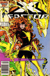 Cover for X-Factor (Marvel, 1986 series) #13 [Newsstand]