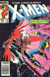 Cover Thumbnail for The Uncanny X-Men (1981 series) #201 [Newsstand Edition]
