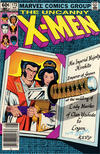 Cover for The Uncanny X-Men (Marvel, 1981 series) #172 [Newsstand]
