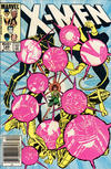 Cover Thumbnail for The Uncanny X-Men (1981 series) #188 [Newsstand Edition]