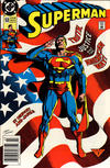 Cover for Superman (DC, 1987 series) #53 [Newsstand]