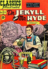 Cover for Classics Illustrated (Gilberton, 1947 series) #13 [HRN 87] - Dr. Jekyll and Mr. Hyde [15¢]