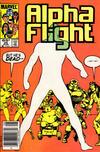 Cover Thumbnail for Alpha Flight (1983 series) #25 [Newsstand]