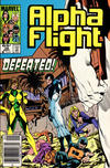 Cover Thumbnail for Alpha Flight (1983 series) #26 [Newsstand Edition]