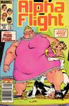 Cover Thumbnail for Alpha Flight (1983 series) #22 [Newsstand]