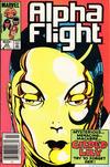Cover Thumbnail for Alpha Flight (1983 series) #20 [Newsstand]