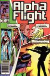 Cover Thumbnail for Alpha Flight (1983 series) #18 [Newsstand]