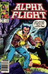 Cover for Alpha Flight (Marvel, 1983 series) #13 [Newsstand]