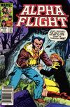 Cover for Alpha Flight (Marvel, 1983 series) #13 [Newsstand]