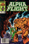 Cover for Alpha Flight (Marvel, 1983 series) #9 [Newsstand]