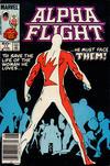 Cover for Alpha Flight (Marvel, 1983 series) #11 [Newsstand]