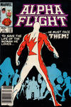 Cover Thumbnail for Alpha Flight (1983 series) #11 [Newsstand Edition]