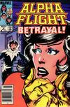 Cover for Alpha Flight (Marvel, 1983 series) #8 [Newsstand]