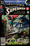 Cover for Superman (DC, 1987 series) #44 [Newsstand]