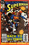 Cover for Superman (DC, 1987 series) #50 [Newsstand]