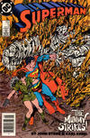 Cover for Superman (DC, 1987 series) #5 [Newsstand]