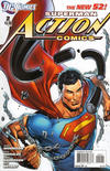 Cover for Action Comics (DC, 2011 series) #2 [Incentive Cover Edition]