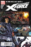Cover for Uncanny X-Force (Marvel, 2010 series) #13 [2nd Printing]