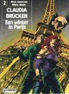 Cover for Claudia Brücken (Le Lombard, 1990 series) #2 - Een winter in Parijs