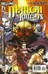 Cover for Demon Knights (DC, 2011 series) #2